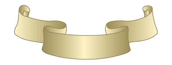 Vector Gold Banner Or Ribbon