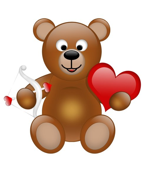 Cupid Teddy Bear