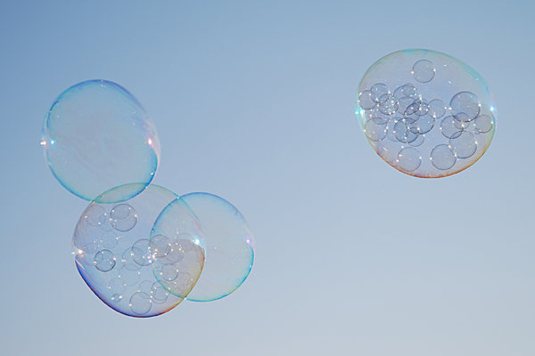 Soap bubbles series 1