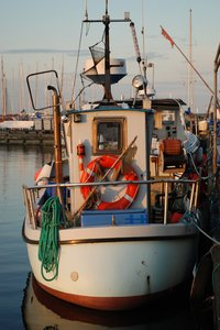 Fishing Boat Stern