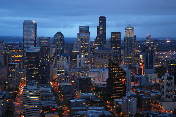 Seattle by night 2