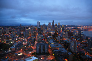 Seattle by night 3