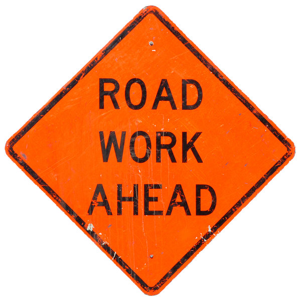 Road Work Sign: Road Work Ahead Sign
