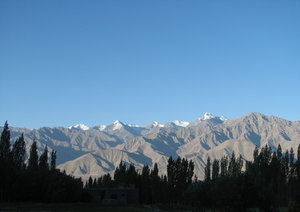 Stok Mountain Range