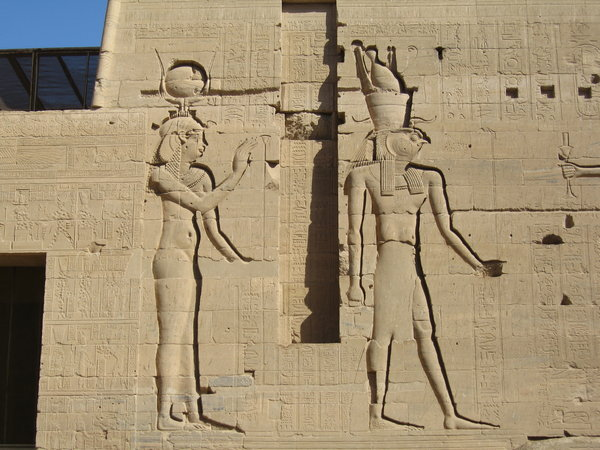 Philae Temple carving