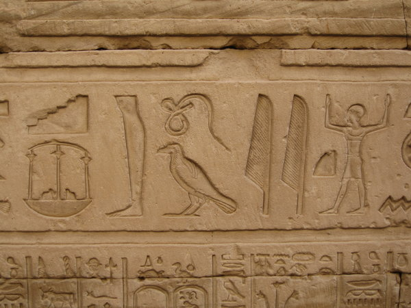 Hieroglyph writting