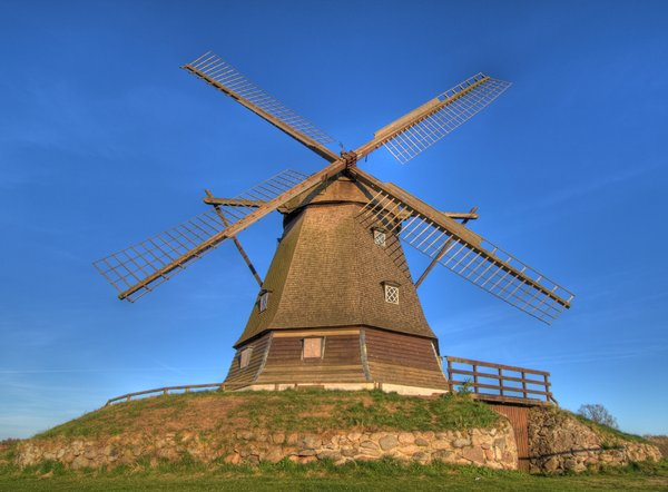 Old windmill - HDR