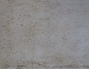Texture - white plaster: white and white - it's been outside for some years