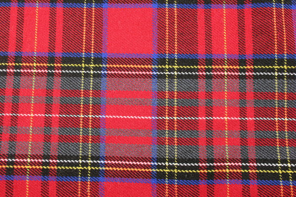Red Tartan: Close-up of Red Tartan material