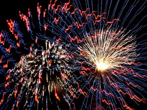 Fireworks!~!~!: Some abstract fireworks!