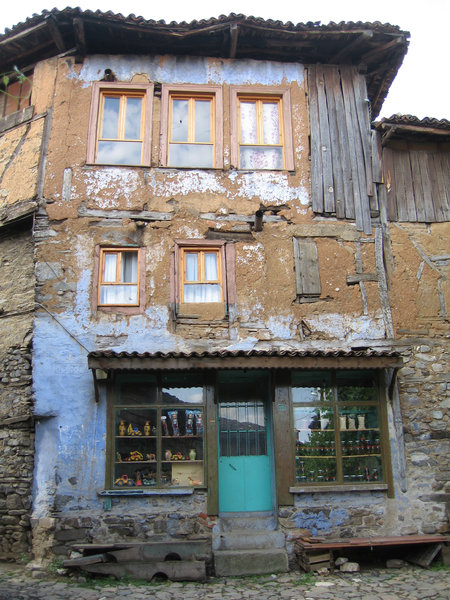 Old Turkish building: An old building in a small village in the center of Turkey