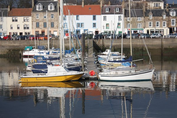 Harbour: View of a Fife Harbour