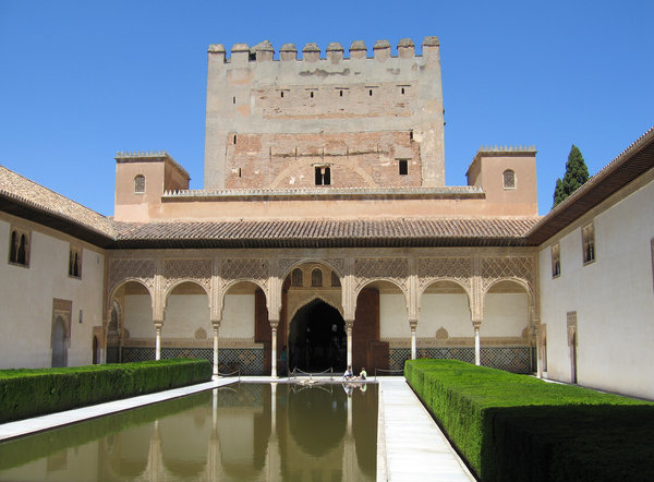 Alhambra palace: Some of the lovelly building at the Alhambra Palace, Granada, Spain