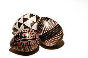 Hand painted Easter eggs: Hand painted Easter eggs