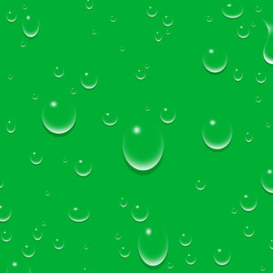 water droplets: