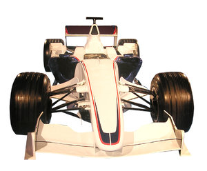 Formula car: A racing car.