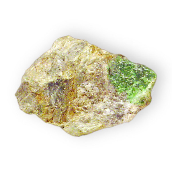 Diopside variety Chrome-Diopsi