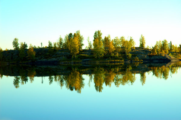 Yellowknife Landscapes 3: Here are some morning 6am morning shots in August