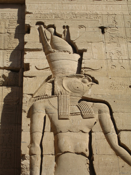 Horus at Philae Temple