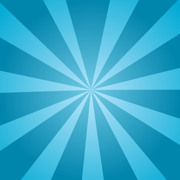 Aqua Sunburst: Aqua sunburst background.  Water theme.