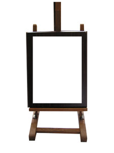Wooden frame: A frame.