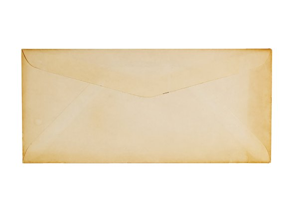 Texture Old Envelope: