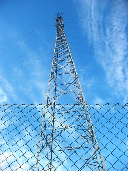 High voltage electic tower 2