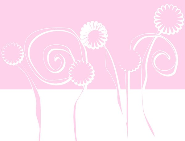 Fondo Floral Pink: