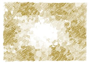 Heart Frame: Heart shapes in a grunge background, texture or frame, in sepia or beige colours.
