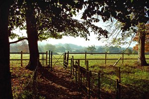 Dedham Vale: A view of Dedham Vale, Essex, England home to the artist John Constable