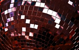 disco ball: mirror ball