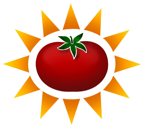 tomato: colorful tomato iconPlease visit my stockxpert gallery:http://www.stockxpert.com ..