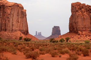 American dream 2: Landscape of Monument valley