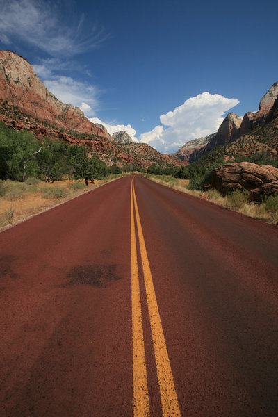 Country roads: Zion National Park