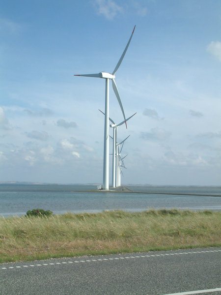 Wind Energy: Windmills at Thyboroen