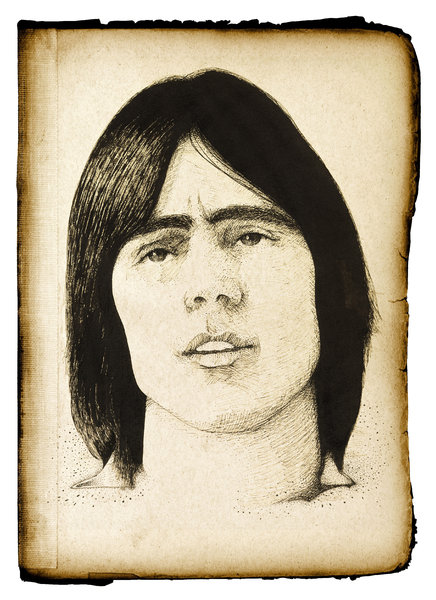 Jackson: A vintage sketch from the 1970s.Please visit my gallery at:http://www.stockxpert.com ..