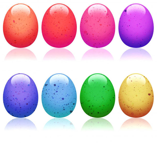 Easter Eggs: Colorful Easter Eggs.This is The Lo Res Version.For The Hi Res Version, Please visit my gallery at:http://www.stockxpert.com ..