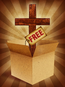 Free Gift: A box, cross and free tag.Please visit my stockxpert gallery:http://www.stockxpert.com ..