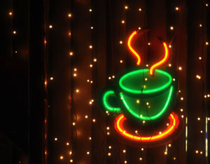neon coffee: No description