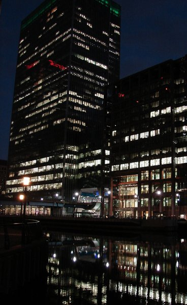 reflections: Canary Wharf