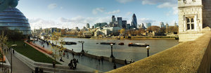London pano: London, City