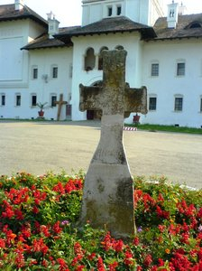 cross 1: Romanian orthodox monastery