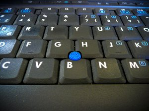 Keyboard and pointer