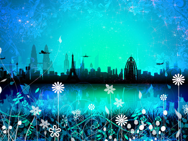 Dreamscape 1: Cityscape in a series of colours and concepts.I was trying a set of new photoshop brushes I downloaded yesterday and this is what I came up with.Please comment and vote.Love you all !