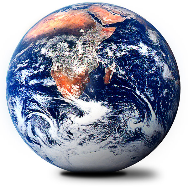 Planet Earth 3: Isolated image of the planet earth to make it look like an object. A great stock image :) There is another image with SOUTH AMERICA. Check my gallery .I downloaded the image from one of Nasa websites they were giving as free to download and worked on tem