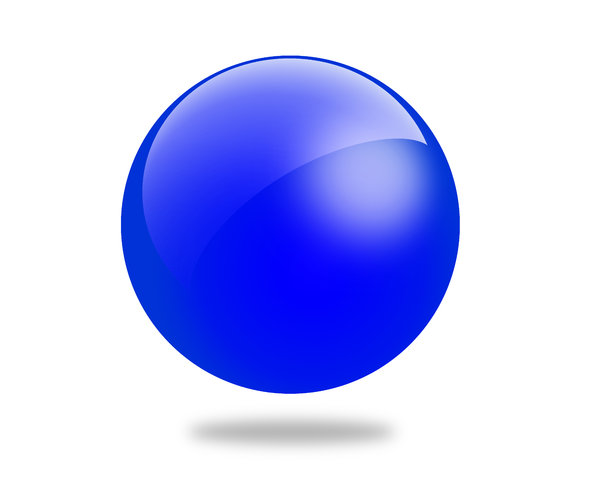 Glossy Ball 2: Set of different colored gloss ball illustrations
