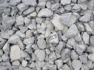 Dry rocks: This is a coal mine in Orissa