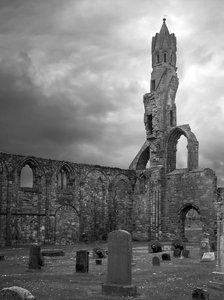 Graveyard 2: Graveyard in St Andrews Cathedral, Scotland
