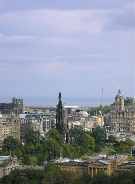 Edinburgh from above 2
