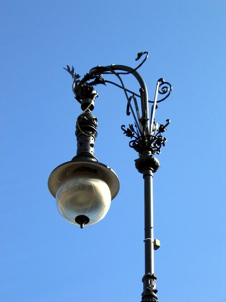 wrought-iron street lamp 2